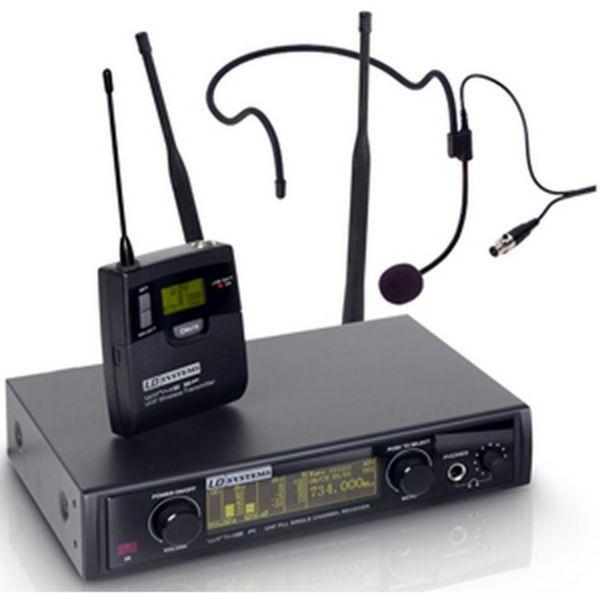 Microfono con diadema inalambrico