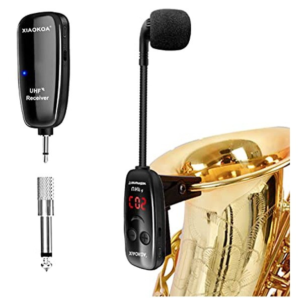 Microfonos inalambricos para instrumentos